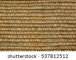 wickerwork background. wicker... | Shutterstock . vector #537812512