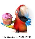 fun parrot   3d illustration | Shutterstock . vector #537819292