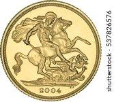 benedetto pistrucci st. george... | Shutterstock . vector #537826576