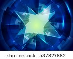 abstract blue background....   Shutterstock . vector #537829882