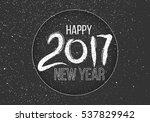 grunge  hand drawn lettering on ...   Shutterstock . vector #537829942