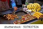 halal street food in muslim... | Shutterstock . vector #537837526