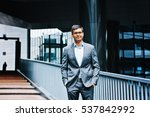 young indian businessman... | Shutterstock . vector #537842992