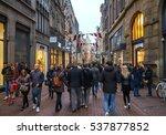 amsterdam  holland  december...   Shutterstock . vector #537877852