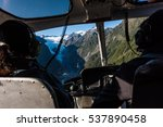 passengers in a helicopter as... | Shutterstock . vector #537890458