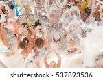 foam party | Shutterstock . vector #537893536