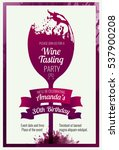 invitation template for event ... | Shutterstock .eps vector #537900208