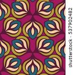 seamless pattern morrocan... | Shutterstock .eps vector #537902482