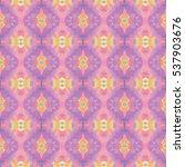 seamless vector mosaic pattern  ... | Shutterstock .eps vector #537903676