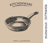 Graphic Hand Drawn Pan....