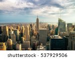 new york city   july 16 2016 ... | Shutterstock . vector #537929506