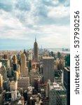 new york city   july 16 2016 ... | Shutterstock . vector #537930256