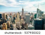 new york city   july 16 2016 ... | Shutterstock . vector #537930322