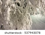 texture of snow for the... | Shutterstock . vector #537943078