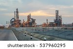 efinery oil and gas industry | Shutterstock . vector #537960295