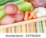 fresh vegetables ready for...