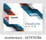 modern line design  motion... | Shutterstock . vector #537970786