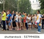 moscow  russia   july 24  2016  ... | Shutterstock . vector #537994006