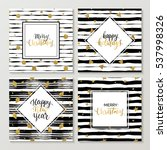 happy new year and merry... | Shutterstock .eps vector #537998326