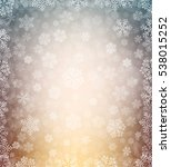 background with snowflakes   Shutterstock .eps vector #538015252