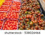 yellow  red and green tomatoes... | Shutterstock . vector #538026466