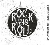 monochrome rock music print ... | Shutterstock . vector #538036066