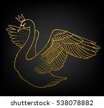 beautiful hand drawn vector...   Shutterstock .eps vector #538078882