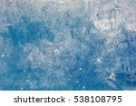 the texture of the ice. | Shutterstock . vector #538108795