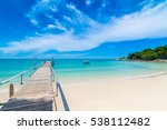 beautiful beach in thailand | Shutterstock . vector #538112482