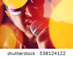 alternative rock music singer... | Shutterstock . vector #538124122