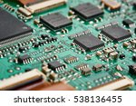 elements of electronic circuit... | Shutterstock . vector #538136455
