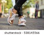 street style women shoes | Shutterstock . vector #538145566