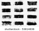 grunge banners. vector. | Shutterstock .eps vector #53814838