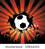 football poster   Shutterstock .eps vector #53816431