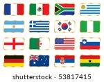 national flag mix set 1. jpeg... | Shutterstock . vector #53817415