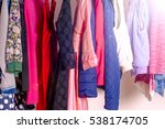set of clothes for kids on... | Shutterstock . vector #538174705