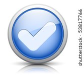 easy editable vector button for ... | Shutterstock .eps vector #53817766