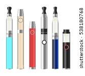 vape pen. electronic cigarette...   Shutterstock .eps vector #538180768