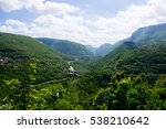 the panoramic landscape and the ...   Shutterstock . vector #538210642