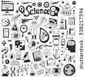 science   doodles collection | Shutterstock .eps vector #538217596