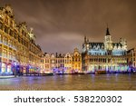 The Grand Place Or Grote Markt...