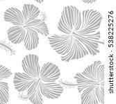 vector seamless pattern. aloha... | Shutterstock .eps vector #538225276