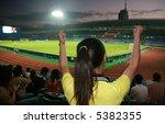 soccer fan | Shutterstock . vector #5382355