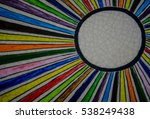 colorful ceramic wall as... | Shutterstock . vector #538249438