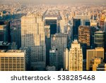 aerial view of the new york...   Shutterstock . vector #538285468