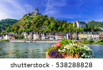 cochem   beautiful medieval... | Shutterstock . vector #538288828