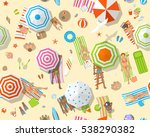 seamless pattern. people on a... | Shutterstock .eps vector #538290382