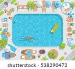vector illustration. sunny... | Shutterstock .eps vector #538290472