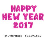 word happy new year in english... | Shutterstock . vector #538291582