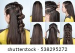 tutorial photo step by step of... | Shutterstock . vector #538295272